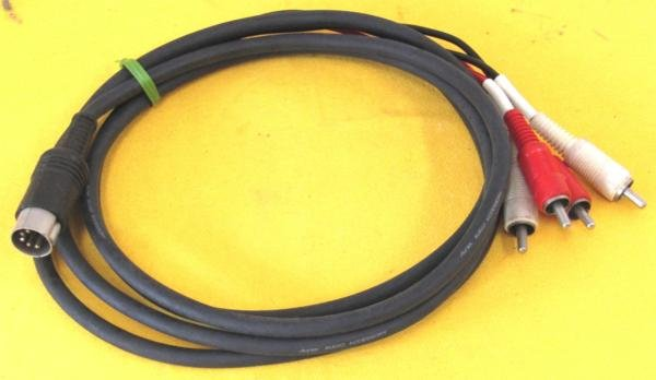 Photo1: DIN 5 pin RCA cable / 190 cm /  (1)
