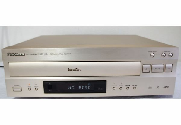 Photo1: Pioneer CLD-R7G CD / LD Player (1)