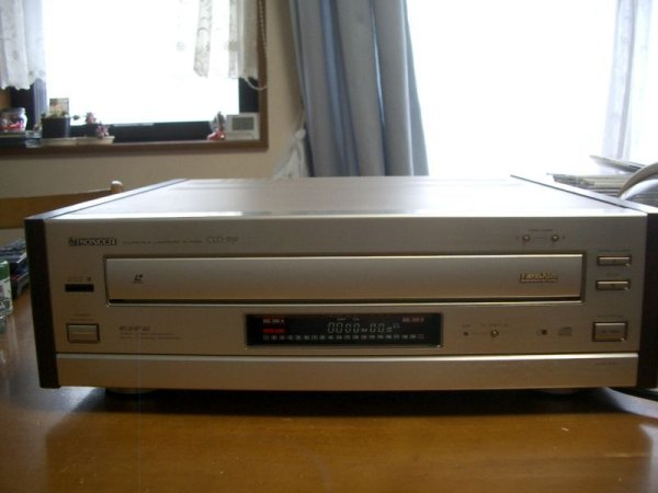 Photo1: Pioneer CLD-919 CD / LD Player (1)