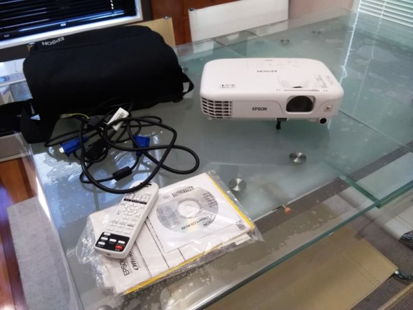 Photo1: EPSON Projector EB-S02 #2 (1)