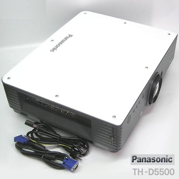 Photo1: Panasonic Projector TH-D5500L (1)