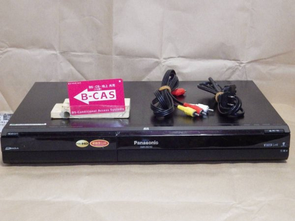Photo1: Panasonic HDD/DVD recorder DMR-XW100 (1)