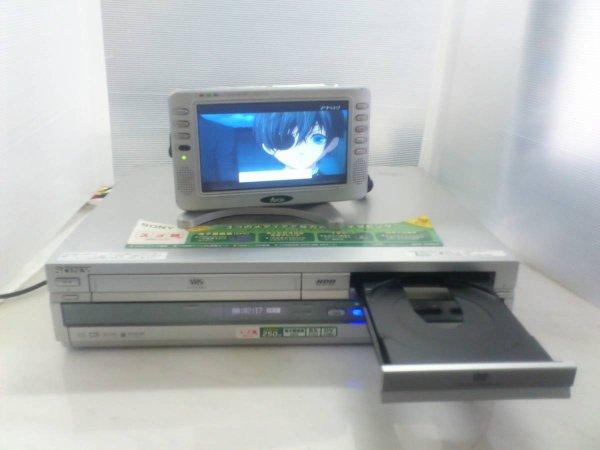 Photo1: SONY HDD/DVD recorder RDR-VH93 (1)