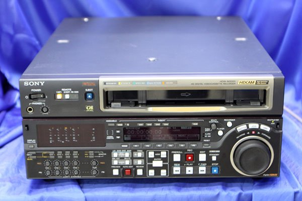Photo1: SONY VIDEO DECK VCR commercial HDCAM recorder HDW-M2000 (1)