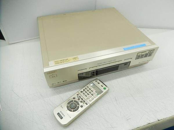 Photo1: SONY VIDEO DECK VCR DV/S-VHS W-DR9 (1)