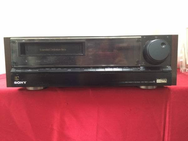 Photo1: SONY VIDEO DECK VCR bata EDV-9000 (1)