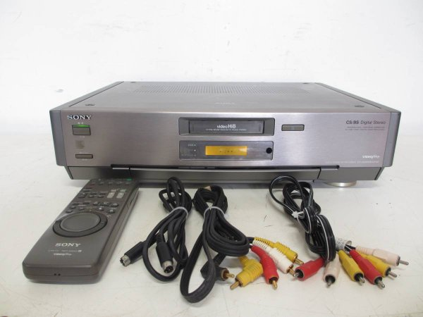 Photo1: SONY VIDEO DECK VCR EV-NS9000 Hi8 (1)