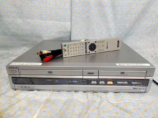 Photo1: SONY VCR RDR-VH85 VHS⇔DVD⇔HDD (1)