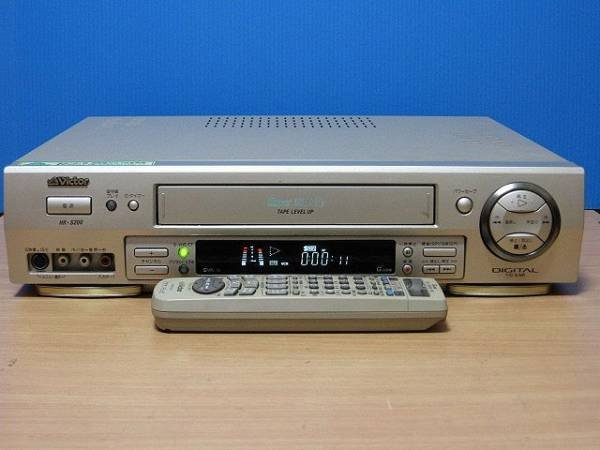Photo1: Victor VIDEO DECK VCR HR-S200 S-VHS (1)