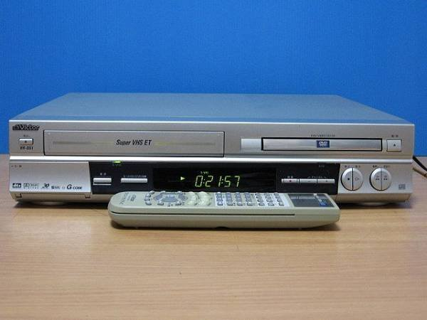 Photo1: Victor VIDEO DECK VCR HR-DS1 DVD+S-VHS  (1)