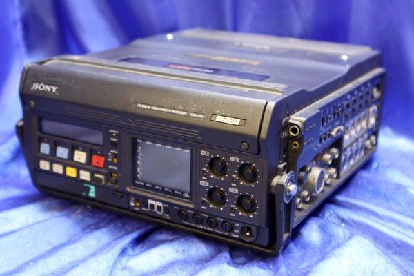 Photo1: SONY VIDEO DECK VCR HDCAM portable VTR [HDW-250] (1)