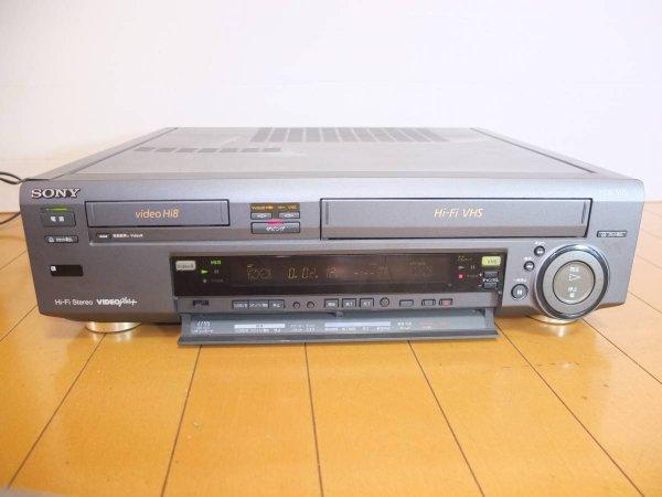 Photo1: SONY VCR WV-H4 Hi8/VHS (1)