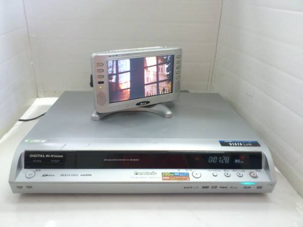 Photo1: Panasonic DVD / HDD recorder DMR-EX150 (1)