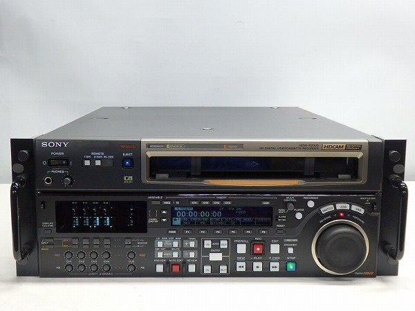 Photo1: SONY VIDEO DECK VCR HDCAM recorder HDW-S2000 (1)