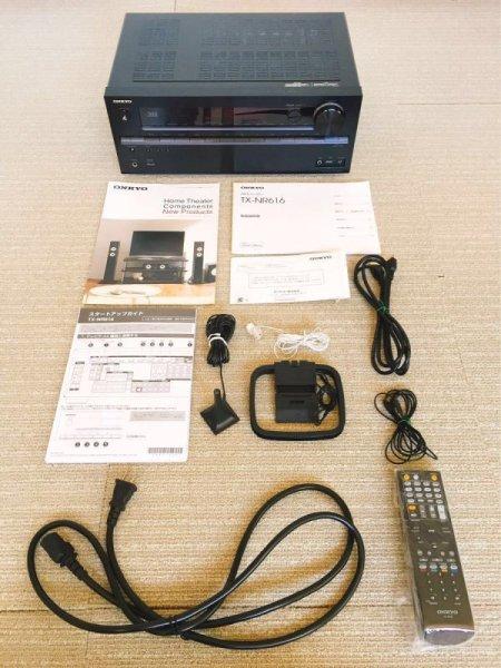 Photo1: ONKYO AV amplifier TX-NR616 7.1ch (1)