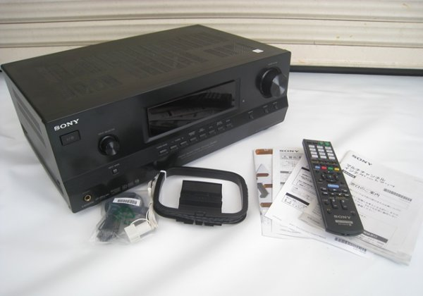 Photo1: SONY 7.1 channel multichannel integration amplifier STR-DH530 (1)