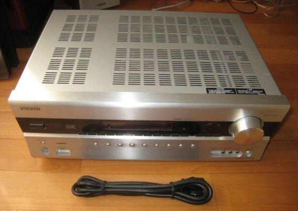 Photo1: ONKYO AV center amplifier / 7.1ch compatible TX-SA608S (1)