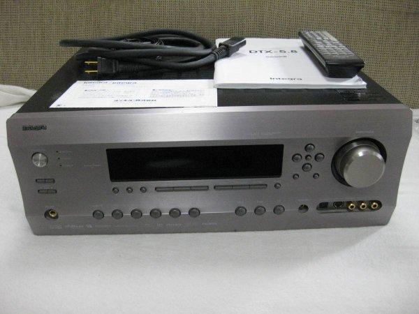 Photo1: ONKYO 7.1ch compatible AV center Integra DTX-5.8 (1)