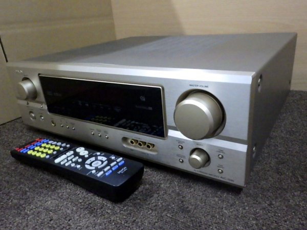Photo1: DENON AV surround amplifier AVC-1590  (1)