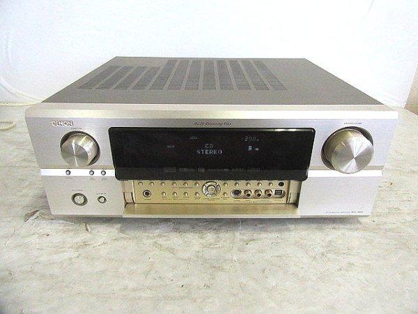 Photo1: DENON AV surround amplifier AVC-3890 (1)