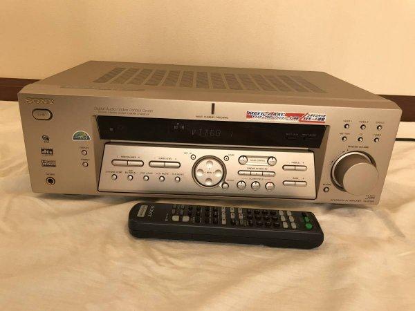 Photo1: SONY Digital surround integration AV amplifier TA-DE585 (1)