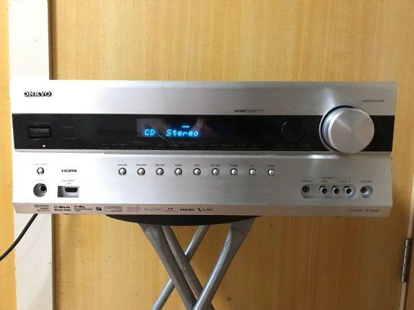 Photo1: ONKYO AV Center AV amplifier TX-SA607 (1)