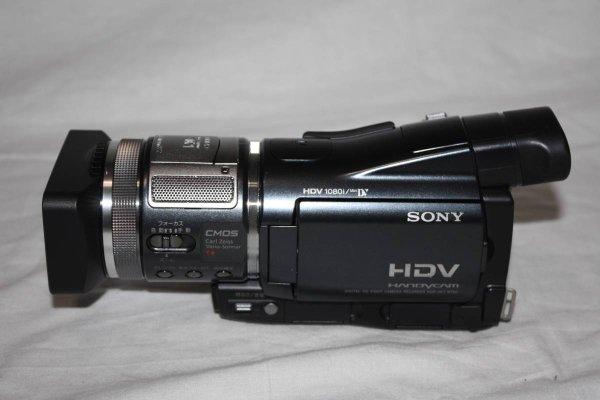 Photo1: SONY Digital video camera HDR-HC1 (1)