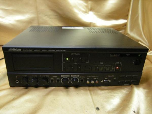Photo1: Victor AV mixing amplifier PS-M400P #2 (1)