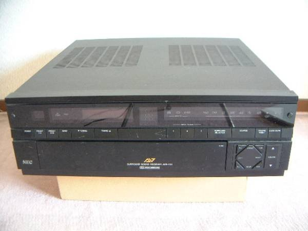 Photo1: NEC DOLBY SURROUND RECEIVER AVR-700 (1)