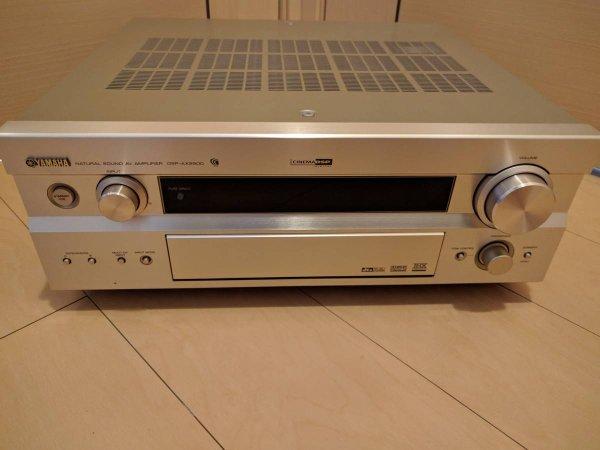 Photo1:  YAMAHA AV Amplifier DSP-AX2500  (1)