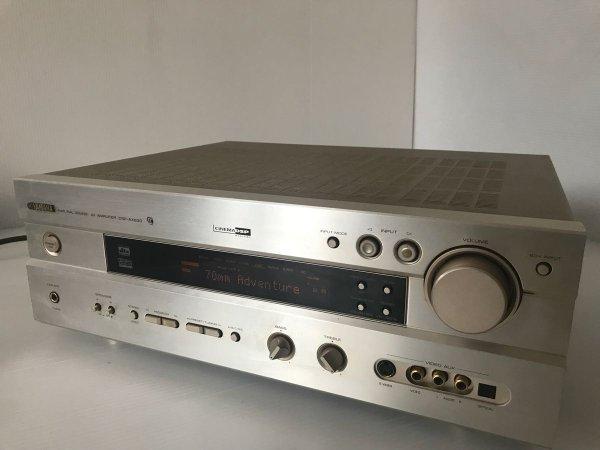 Photo1: YAMAHA  AV Amplifier DSP-R496 (1)