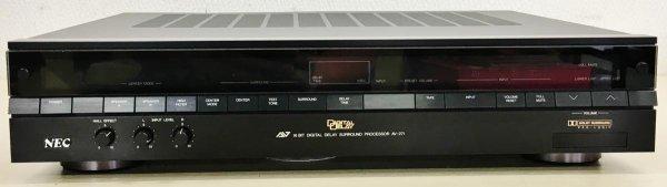 Photo1: NEC AV round processor AV-271 (1)
