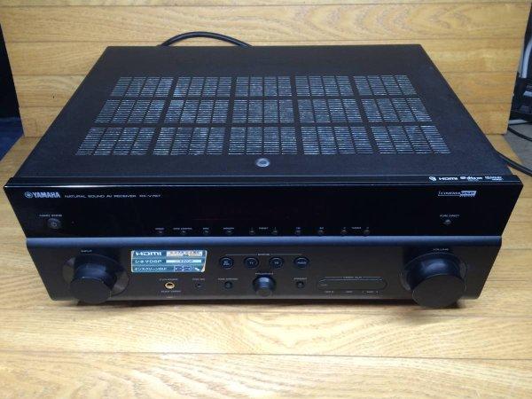 Photo1: YAMAHA AV receiver RX-V767 (1)