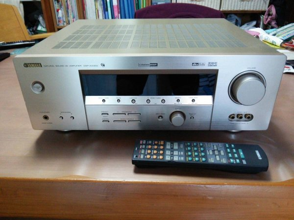 Photo1: YAMAHA AV Amplifier DSP-AX450 (1)