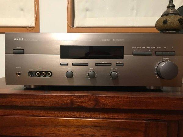 Photo1: YAMAHA AV Amplifier AVX 780 DSP (1)