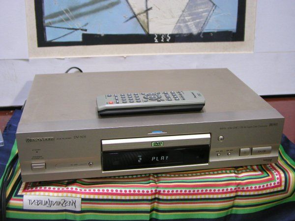 Photo1: PIONEER DVD/CD player DV-505 (1)