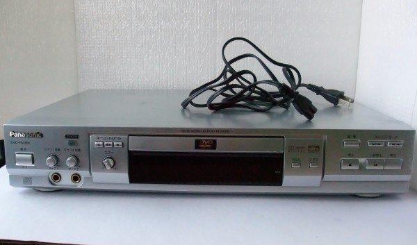 Photo1: Panasonic DVD Player DVD-RV35K  (1)