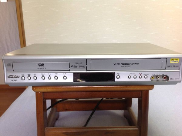 Photo1: Victor DVD player integrated VHS video HR-DV5 (1)