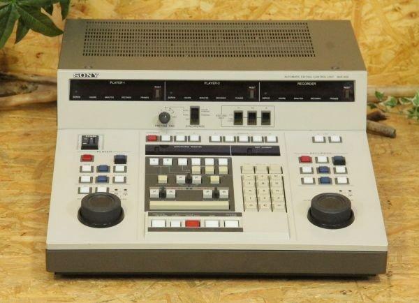 Photo1: SONY BVE-800 Editing Controller Unit (1)
