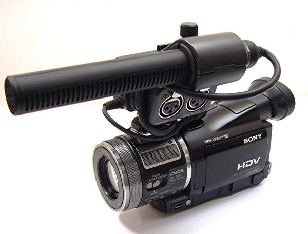 Photo1: SONY Digital video camera HVR-A1J Black (1)