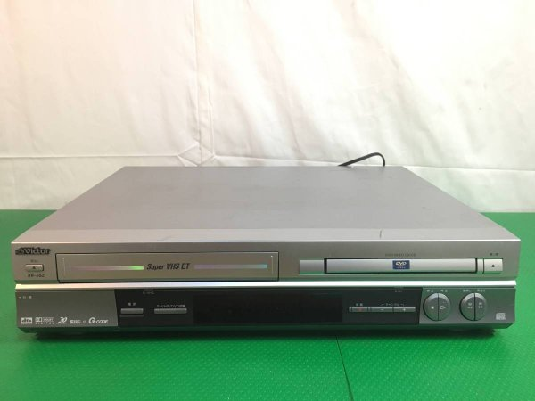 Photo1: Victor JVC HR-DS2 DVD player integrated S-VHS video (1)