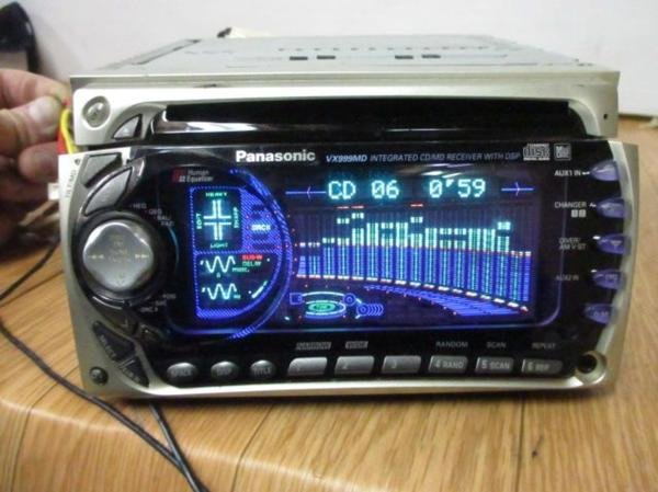 Photo1: Panasonic CQ-VX999MD CD/MD player (1)