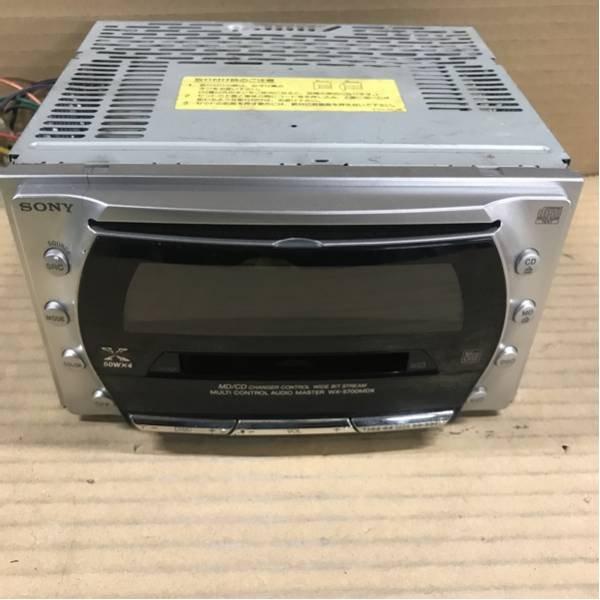 Photo1: SONY WX-5700MDX CD/MD player (1)