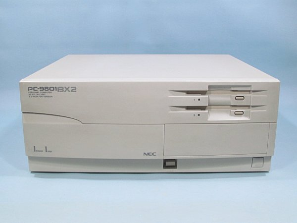 Photo1: NEC PC-9801BX2/U2 (1)