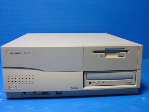 Photo1: PC-9821 Xa12 (CPU 200MHz refurbished) + hard disk CF reduction and initial operation check goods (1)