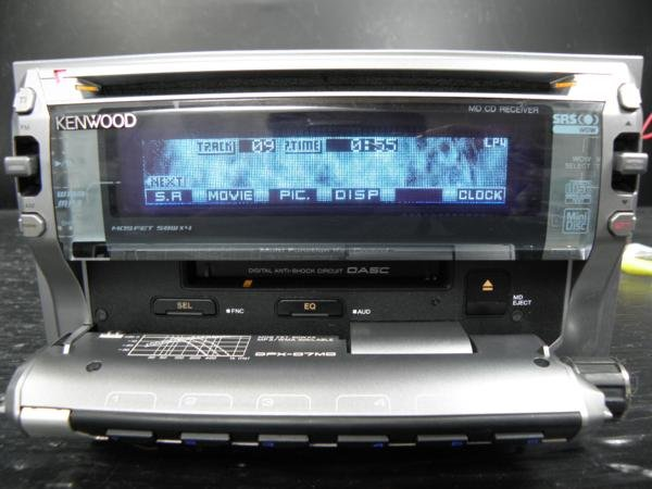 Photo1: KENWOOD DPX-07MD CD MD SRS WOW 2DIN  (1)