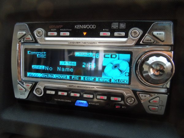 Photo1: KENWOOD DPX-9200WMP CD/MD player (1)