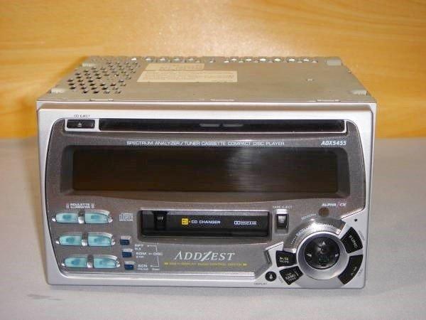 Photo1: ADDZEST ADX5455 CD & Cassette Player (1)
