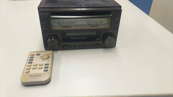 Photo1: Panasonic CD & MD CQ-VX5500K analog meter (1)