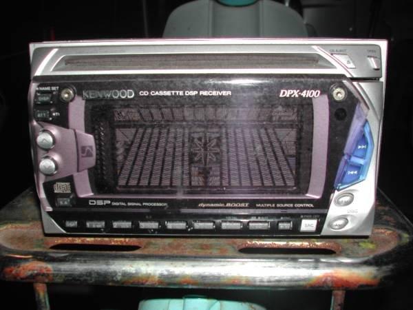 Photo1: KENWOOD DPX-4100 CD/Cassette deck  (1)